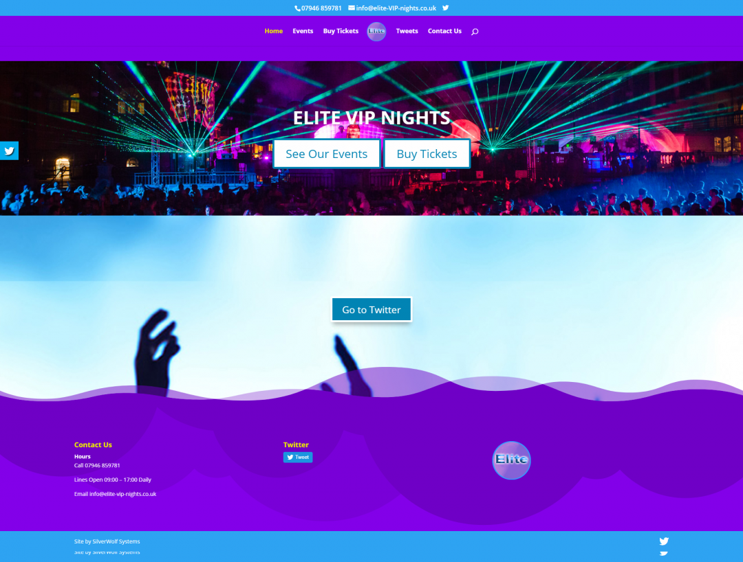 Elite VIP Nights Home Page