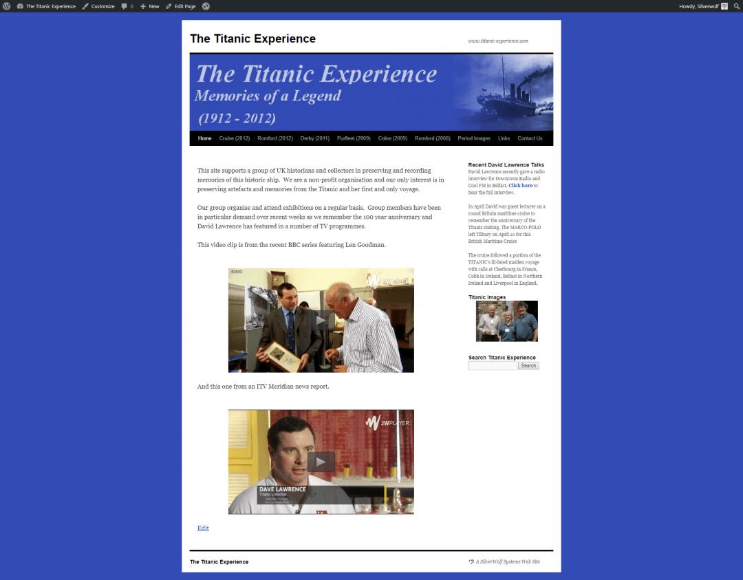 Titanoraks Homepage
